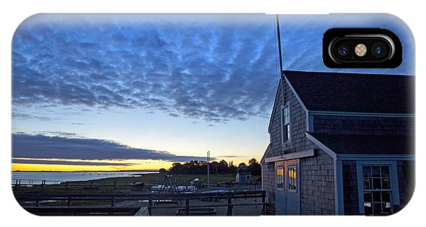 Sunrise At Barnstable Yacht Club IPhone Case