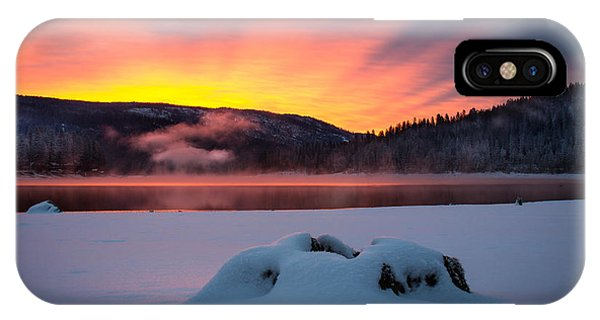 Sunrise At Bass Lake IPhone Case