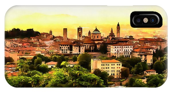 Sunrise At Bergamo IPhone Case
