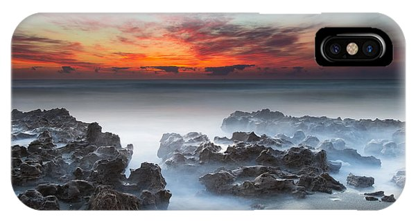 Sunrise At Blowing Rocks Preserve IPhone Case