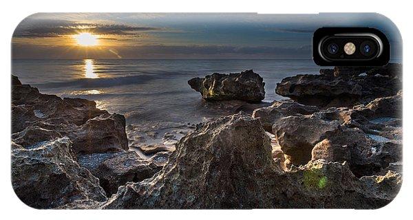 Sunrise At Coral Cove Park In Jupiter IPhone Case