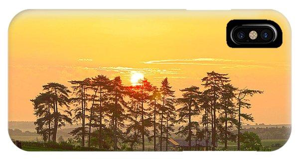 Sunrise At Danebury Hillfort IPhone Case
