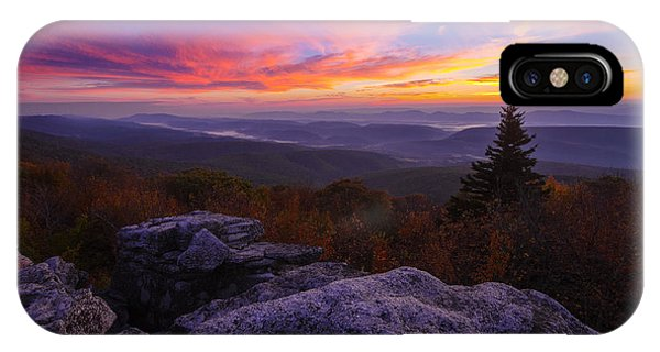 Sunrise At Dolly Sods In West Virginia IPhone Case