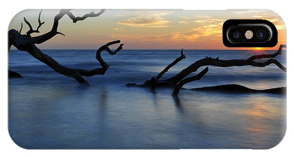 Sunrise At Driftwood Beach 7.3 IPhone Case