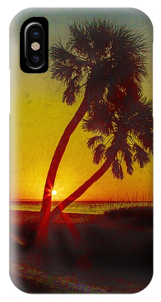Sunrise At Fort De Soto IPhone Case