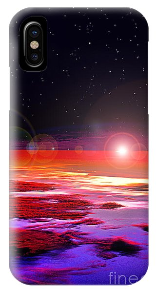 Sunrise At Fourty Thousand  IPhone Case
