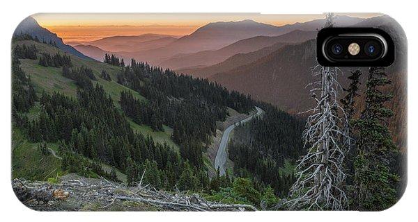 Sunrise At Hurricane Ridge - Sunrise Peak IPhone Case