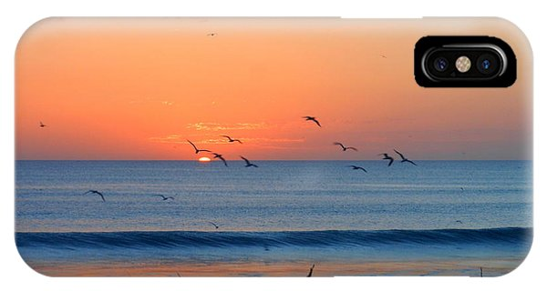 Sunrise At Indialantic IPhone Case