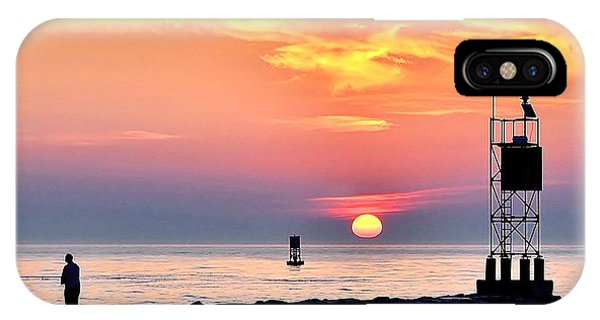Sunrise At Indian River Inlet IPhone Case