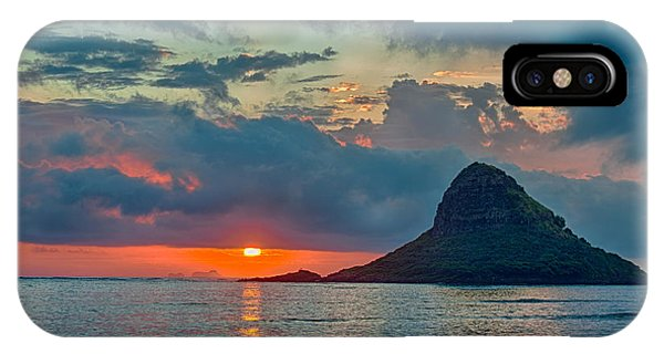 Sunrise At Kualoa Park IPhone Case