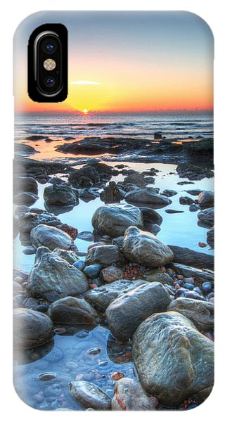 Sunrise At Low Tide IPhone Case