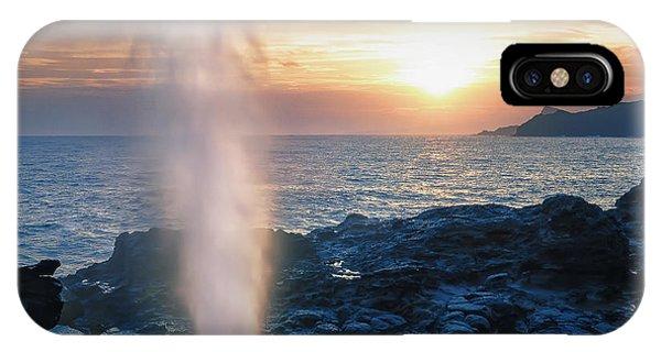 Sunrise At Nakalele IPhone Case