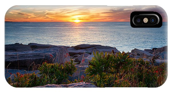 Sunrise At Otter Cliffs IPhone Case