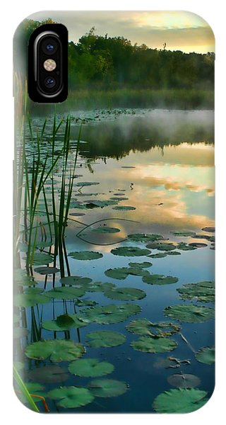 Sunrise At Pokagon State Park  IPhone Case