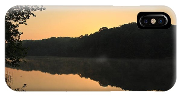 Sunrise At Rose Lake IPhone Case