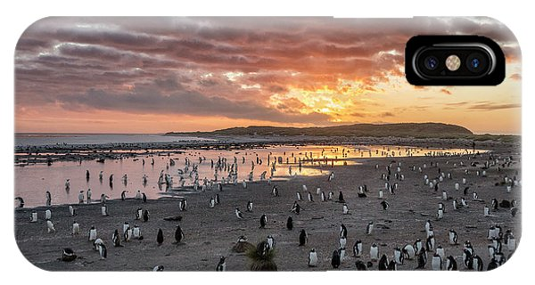 Sand iPhone Case - Sunrise At Sea Lion by Joan Gil Raga
