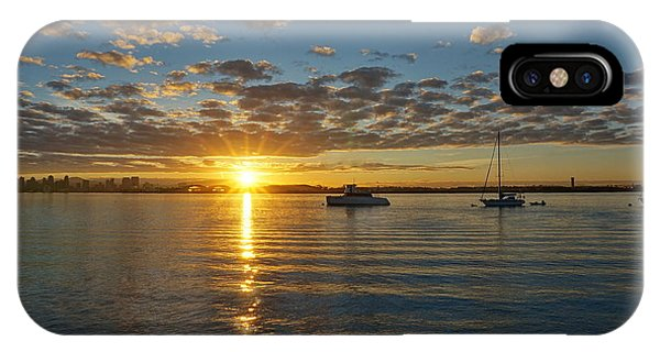 Sunrise At Shelter Island IPhone Case