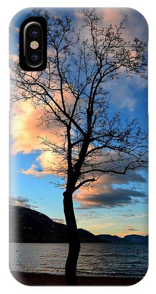 Sunrise At Skaha Lake 03-07-2014 IPhone Case