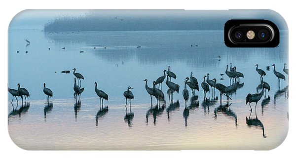 Sunrise Over The Hula Valley Israel 5 IPhone Case