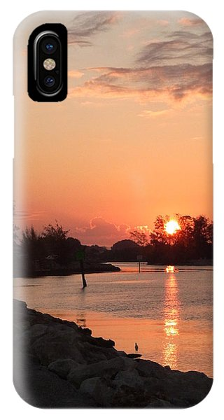 Sunrise At The North Jetty IPhone Case