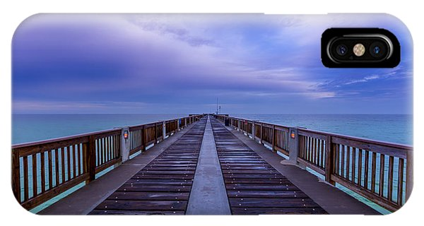 Sunrise At The Panama City Beach Pier IPhone Case