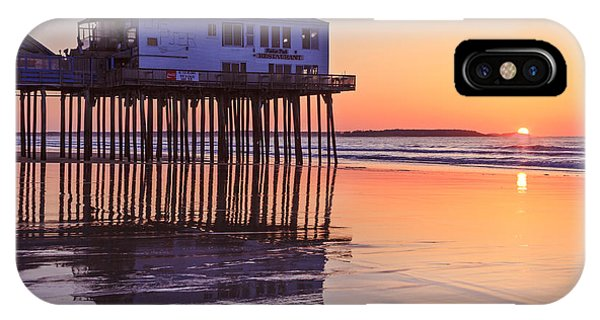 Sunrise At The Pier On Oob Phone Case by Shane Borelli