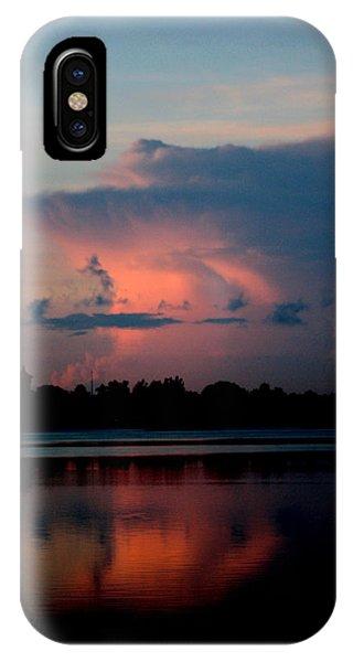 Sunrise Cloud Reflection IPhone Case