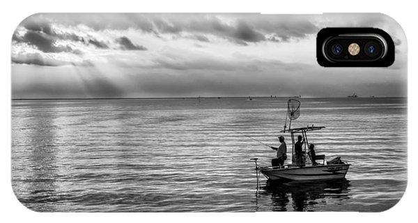 Sunrise Fishermen IPhone Case