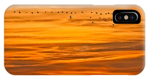 Sunrise Flight IPhone Case