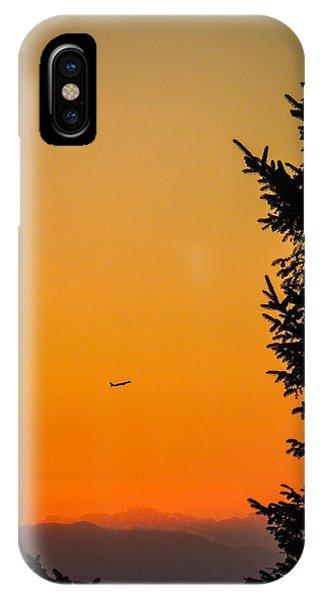 Sunrise Flight Departing Shannon Airport IPhone Case