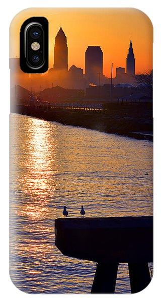 Sunrise From Edgewater IPhone Case