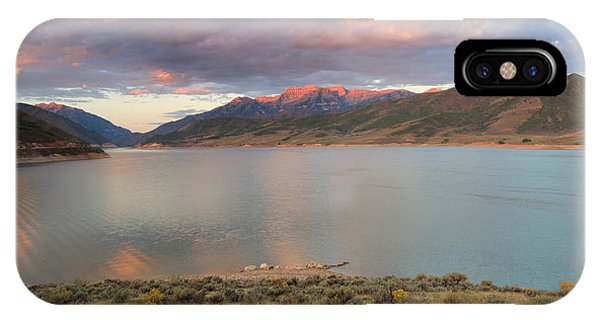 Sunrise From The Island At Deer Creek. IPhone Case