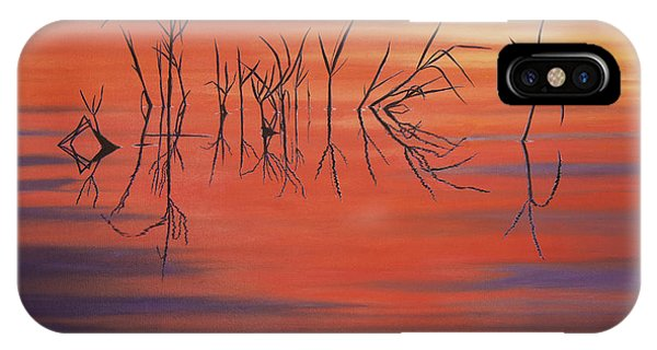 Sunrise Grass Reflections IPhone Case