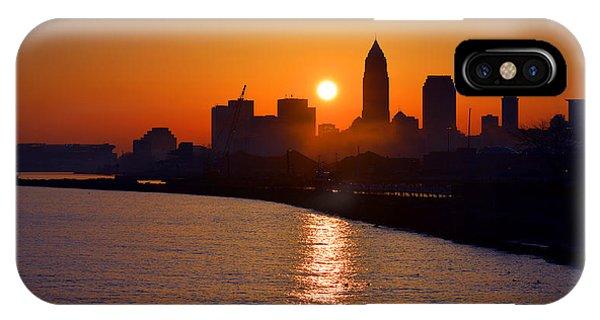 Sunrise In Cleveland IPhone Case