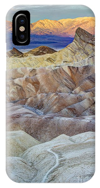 Sunrise In Death Valley IPhone Case