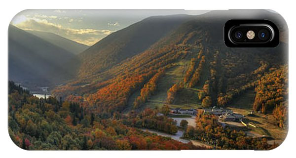 Sunrise In Franconia Notch IPhone Case