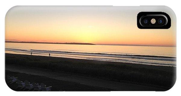Old Orchard Beach Sunrise  IPhone Case