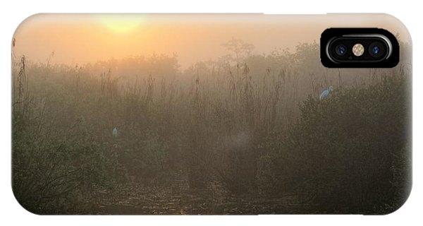 Sunrise In The Everglades IPhone Case