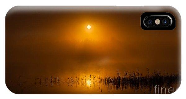 Sunrise In The Fog IPhone Case