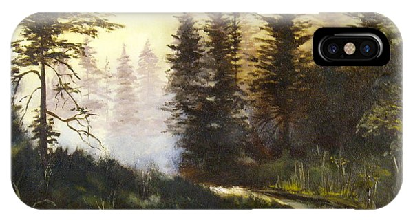 Sunrise In The Forest IPhone Case