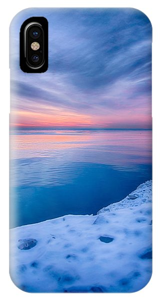 Sunrise Lake Michigan 12-19-13 2 IPhone Case