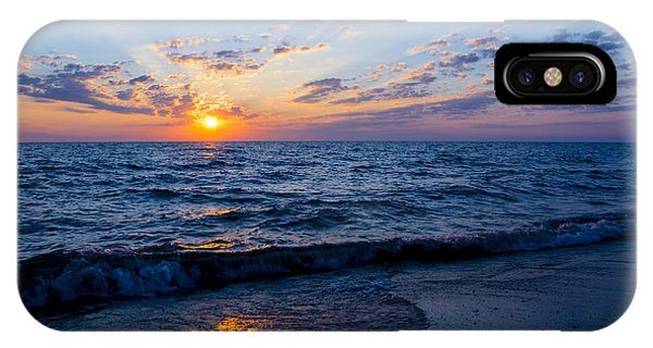 Sunrise Lake Michigan August 10th 2013 002 IPhone Case