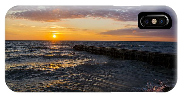 Sunrise Lake Michigan August 8th 2013 005 IPhone Case