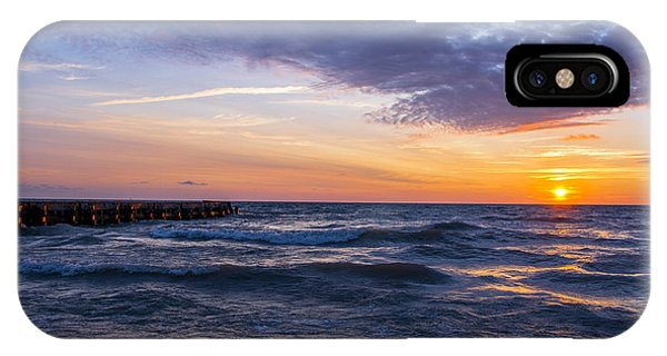 Sunrise Lake Michigan August 8th 2013 007 IPhone Case