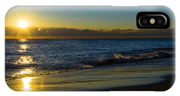 Sunrise Lake Michigan September 14 2013 01 IPhone Case