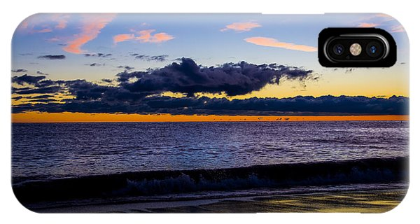 Sunrise Lake Michigan September 14th 2013 002 IPhone Case