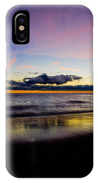 Sunrise Lake Michigan September 14th 2013 010 IPhone Case