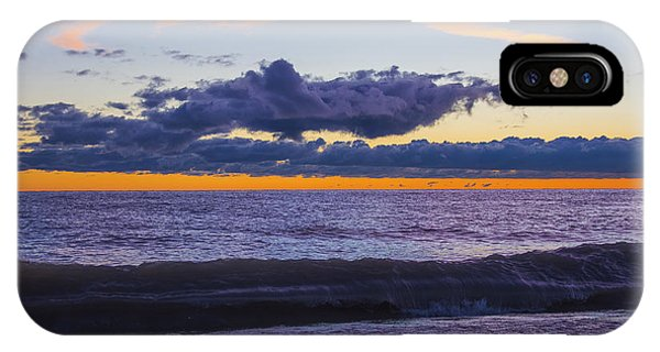 Sunrise Lake Michigan September 14th 2013 011 IPhone Case