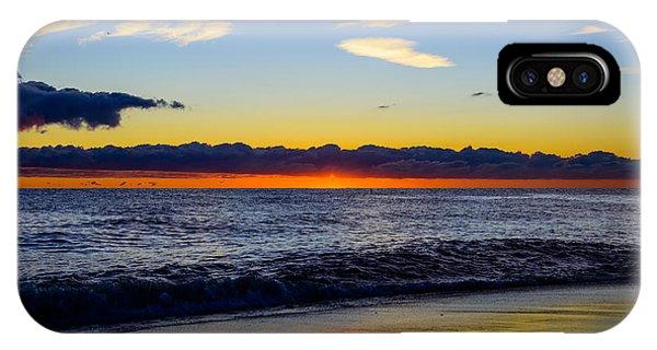 Sunrise Lake Michigan September 14th 2013 012 IPhone Case