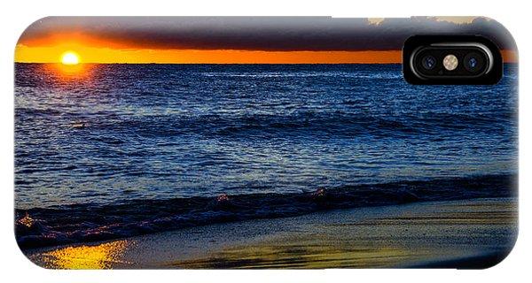 Sunrise Lake Michigan September 14th 2013 015 IPhone Case